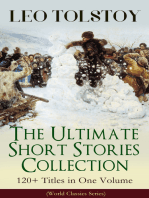 LEO TOLSTOY – The Ultimate Short Stories Collection