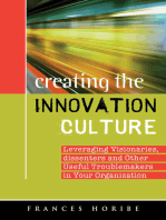 Creating the Innovation Culture