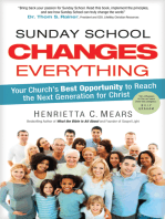 Sunday School Changes Everything