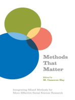 Methods That Matter: Integrating Mixed Methods for More Effective Social Science Research