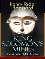 King Solomon's Mines (Lost World Classic) – Unabridged