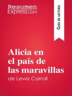 Alicia en el país de las maravillas de Lewis Carroll (Guía de lectura): Resumen y análisis completo