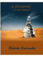A Snowman in the Desert