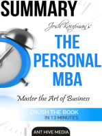 Josh Kaufman's The Personal MBA