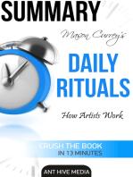 Mason Currey's Daily Rituals