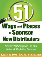 51 Ways and Places to Sponsor New Distributors