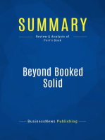 Beyond Booked Solid (Review and Analysis of Port's Book)