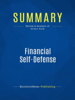 Financial Self-Defense (Review and Analysis of Givens' Book)