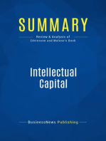 Intellectual Capital (Review and Analysis of Edvinsson and Malone's Book)