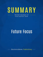 Future Focus (Review and Analysis of Kinni and Ries' Book)