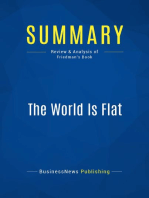 The World Is Flat (Review and Analysis of Friedman's Book)