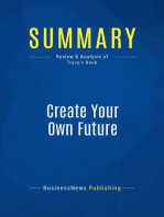 Create Your Own Future (Review and Analysis of Tracy's Book)