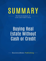 Buying Real Estate Without Cash or Credit (Review and Analysis of Conti and Finkel's Book)