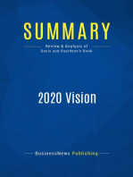 2020 Vision (Review and Analysis of Davis and Davidson's Book)