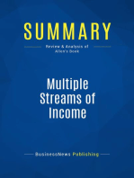 Multiple Streams of Income (Review and Analysis of Allen's Book)
