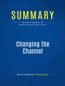 Changing the Channel (Review and Analysis of Masterson and Tribby's Book)