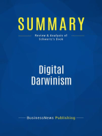 Digital Darwinism (Review and Analysis of Schwartz's Book)
