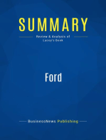 Ford (Review and Analysis of Lacey's Book)