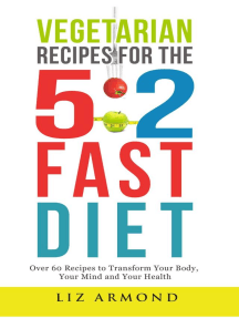 Vegetarian Recipes for the 5:2 Diet: 5:2 Diet, #6