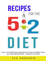Recipes for the 5:2 Diet