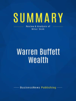 Warren Buffett Wealth (Review and Analysis of Miles' Book)