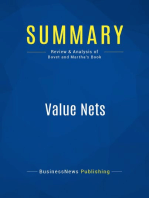 Value Nets (Review and Analysis of Bovet and Martha's Book)