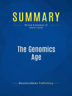 The Genomics Age (Review and Analysis of Smith's Book)