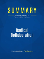 Radical Collaboration (Review and Analysis of Tamm and Luyet's Book)