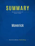 Maverick (Review and Analysis of Semler's Book)