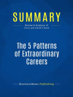 5 Patterns of Extraordinary Careers (Review and Analysis of Citrin and Smith's Book)