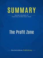 The Profit Zone (Review and Analysis of Slywotzky and Morrison's Book)