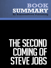 The Second Coming of Steve Jobs (Review and Analysis of Deutschman's Book)