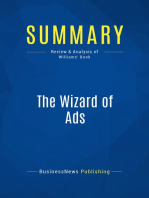 The Wizard of Ads (Review and Analysis of Williams' Book)