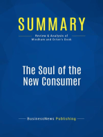 The Soul of the New Consumer (Review and Analysis of Windham and Orton's Book)