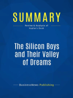 The Silicon Boys and Their Valley of Dreams (Review and Analysis of Kaplan's Book)