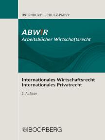 Internationales Wirtschaftsrecht Internationales Privatrecht