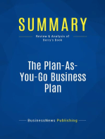 The Plan-As-You-Go Business Plan (Review and Analysis of Berry's Book)