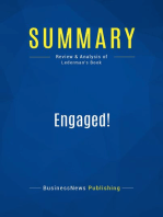 Engaged! (Review and Analysis of Lederman's Book)