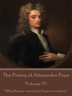 The Poetry of Alexander Pope - Volume VI