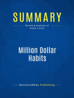 Million Dollar Habits (Review and Analysis of Ringer's Book)