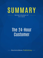 The 24-Hour Customer (Review and Analysis of Ott's Book)