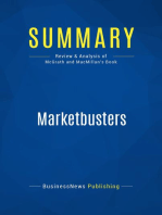 Marketbusters (Review and Analysis of Mcgrath and Macmillan's Book)
