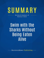 Swim with the Sharks Without Being Eaten Alive (Review and Analysis of Mackay's Book)