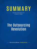 The Outsourcing Revolution (Review and Analysis of Corbett's Book)
