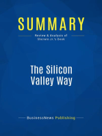 The Silicon Valley Way (Review and Analysis of Sherwin Jr.'s Book)