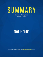 Net Profit (Review and Analysis of Cohan's Book)