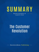 The Customer Revolution (Review and Analysis of Seybold's Book)