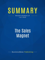 The Sales Magnet (Review and Analysis of Lee's Book)