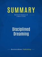 Disciplined Dreaming (Review and Analysis of Linkner's Book)