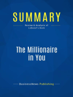 The Millionaire in You (Review and Analysis of LeBoeuf's Book)